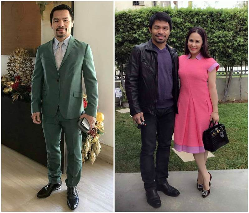 Manny Pacquiao height, weight and age