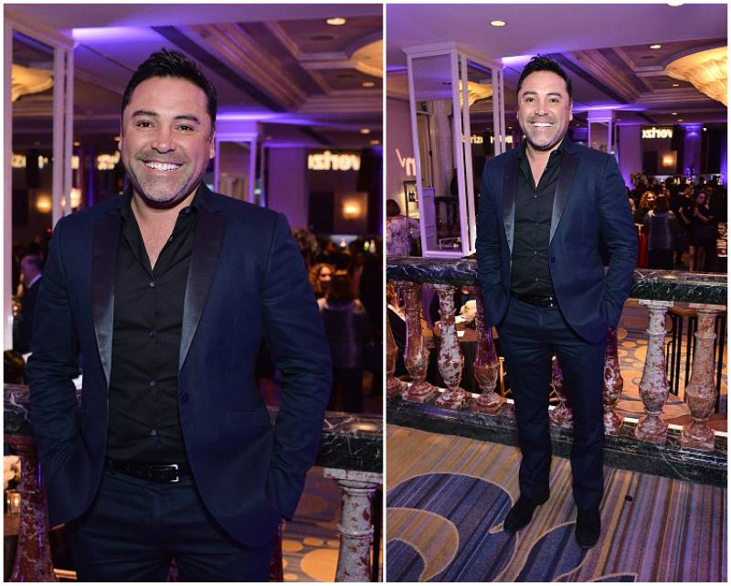 Oscar De La Hoya`s height, weight and age