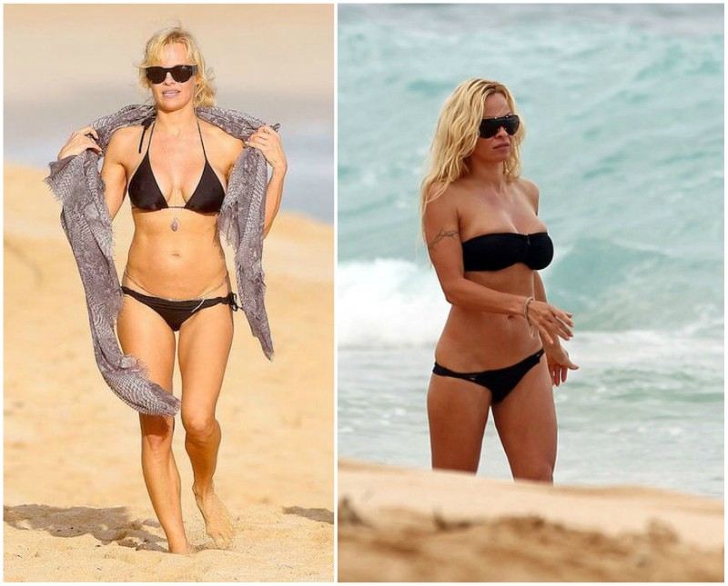 Pamela Anderson`s height, weight and age