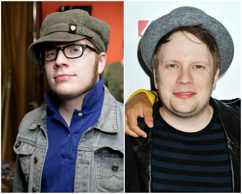Patrick Stump`s eyes and hair color