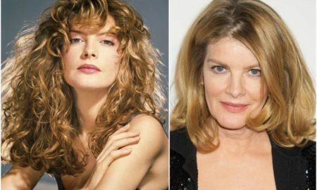 Rene Russo`s eyes and hair color