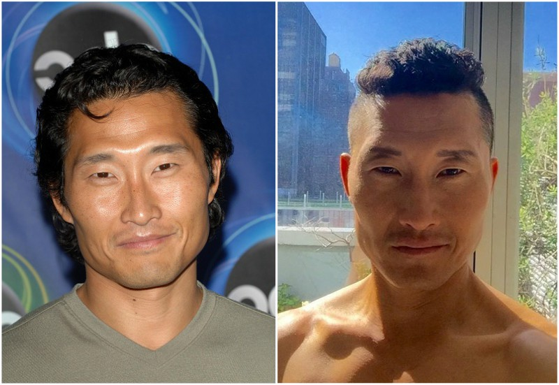 Daniel Dae Kim`s eyes and hair color