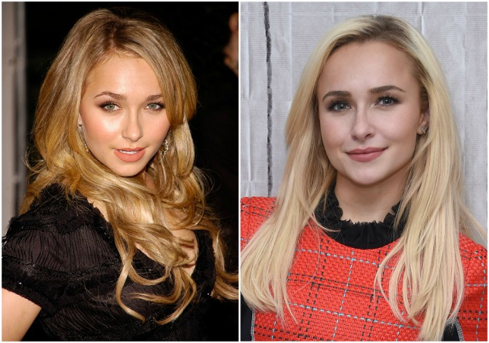 Hayden Panettiere`s eyes and hair color