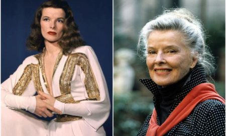 Katharine Hepburn`s eyes and hair color