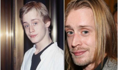 Macaulay Culkin`s eyes and hair color