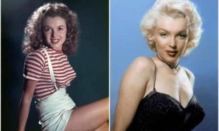 Marilyn Monroe's eyes and hair color