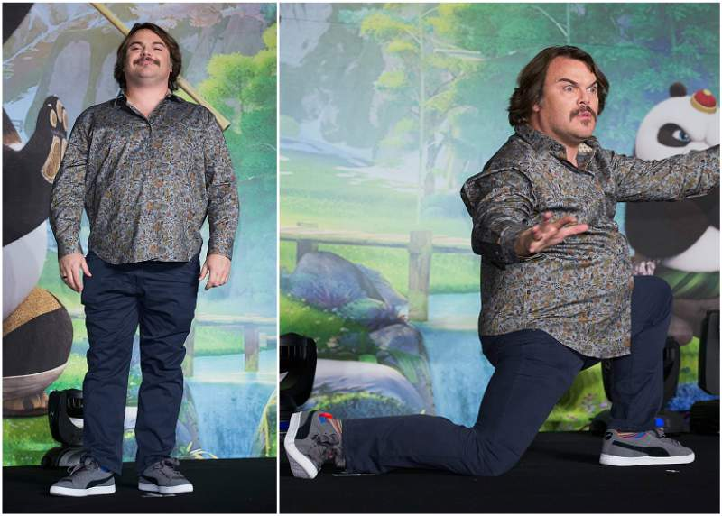 Jack Black`s height, weight and age