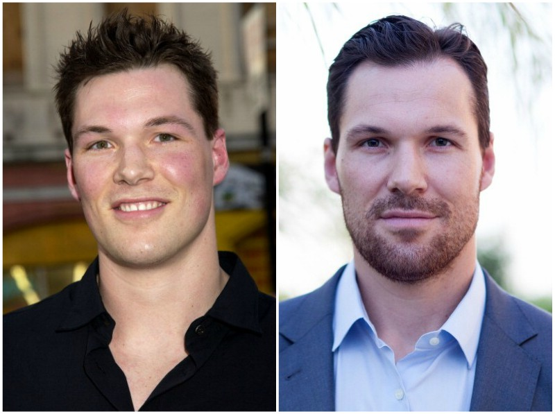 Daniel Cudmore's eyes and hair color