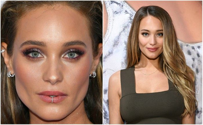 Hannah Davis (Jeter) eyes and hair color