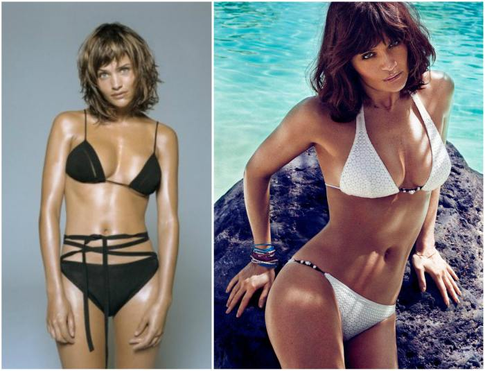 Change In Moderation >> Helena Christensen`s height, weight. Passionate love to food