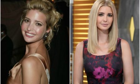 Ivanka Trump`s eyes and hair color