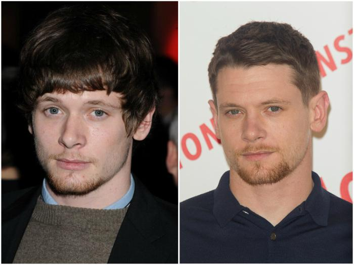 Jack O'Connell's eyes and hair color