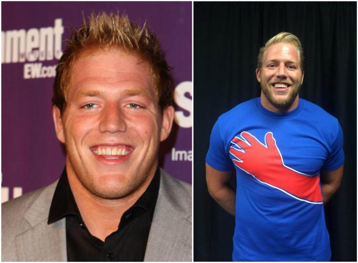 Jack Swagger's eyes and hair color
