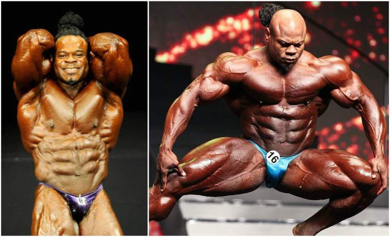 Kai Greene`s height, weight and age