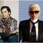Incredible transformation of fashion designer Karl Lagerfeld