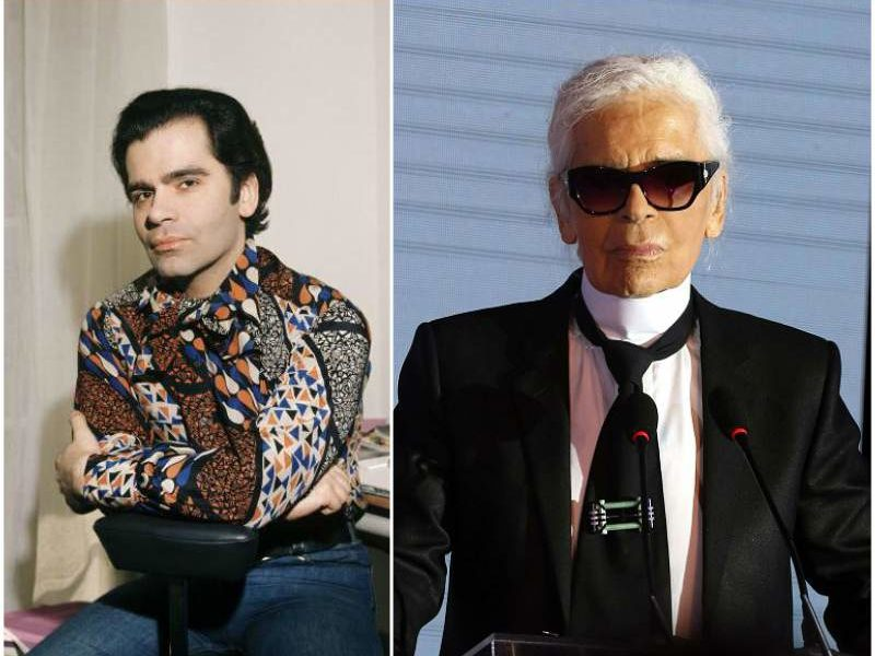 Karl Lagerfeld S Height Weight Incredible Transformation