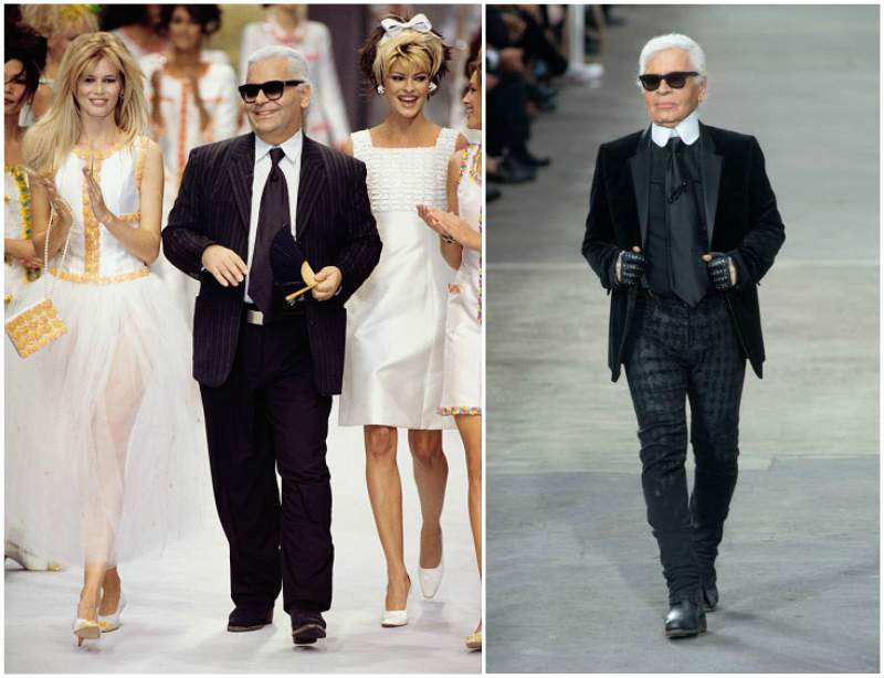 Karl Lagerfeld`s height, weight and age