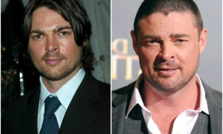 Karl Urban`s eyes and hair color