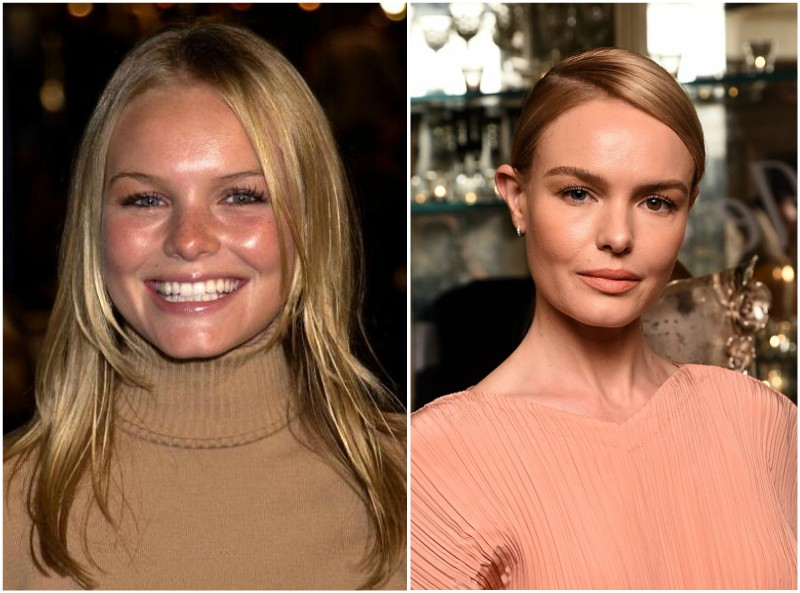 Kate Bosworth`s eyes and hair color