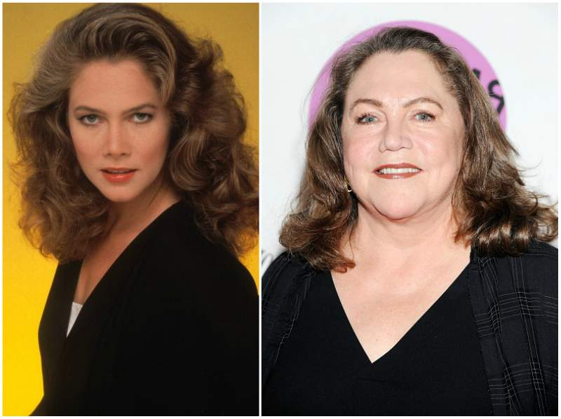 Kathleen Turner`s eyes and hair color