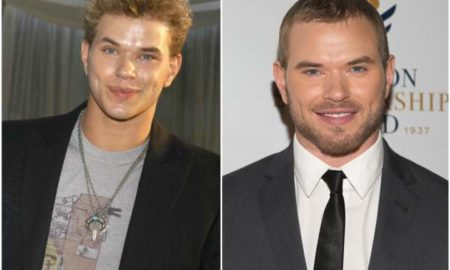 Kellan Lutz's eyes and hair color