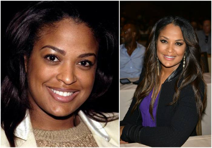 Laila Ali`s eyes and hair color