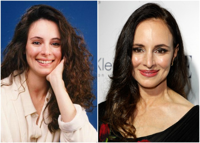 Madeleine Stowe`s eyes and hair color