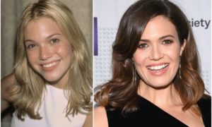 Mandy Moore`s eyes and hair color