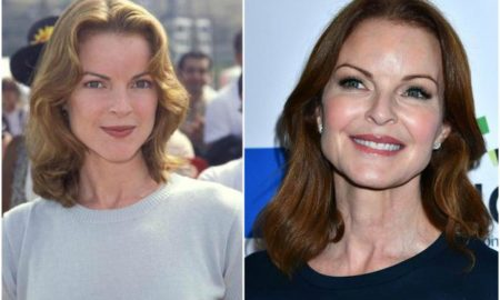 Marcia Cross` eyes and hair color
