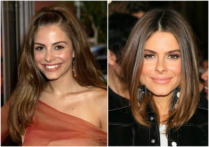 Maria Menounos` eyes and hair color