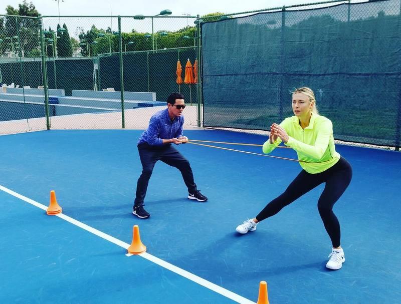 Maria Sharapova's height, weight and age