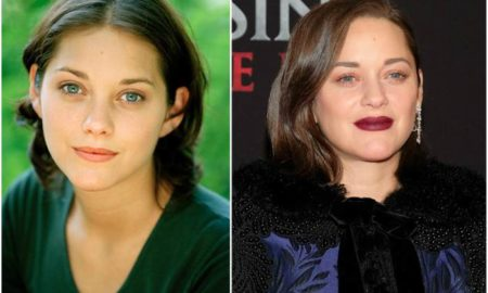 Marion Cotillard`s eyes and hair color