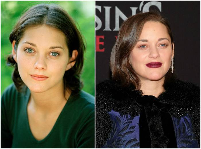Marion Cotillard`s height, weight. She is slim by nature