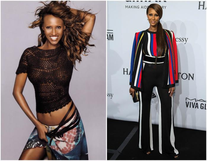 Model Iman Mohamed Abdulmajid height, weight and age
