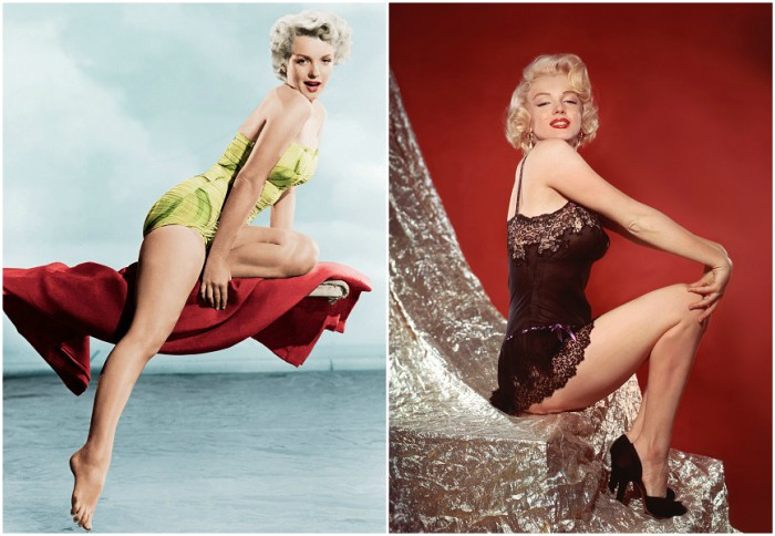 Marilyn Monroe's height, weight and body measurements