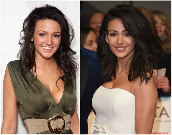 Michelle Keegan`s eyes and hair color