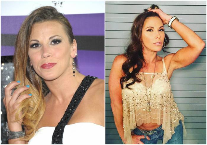 Mickie James` eyes and hair color
