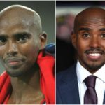 Mo Farah stays in shape even when he's not getting ready for a competition