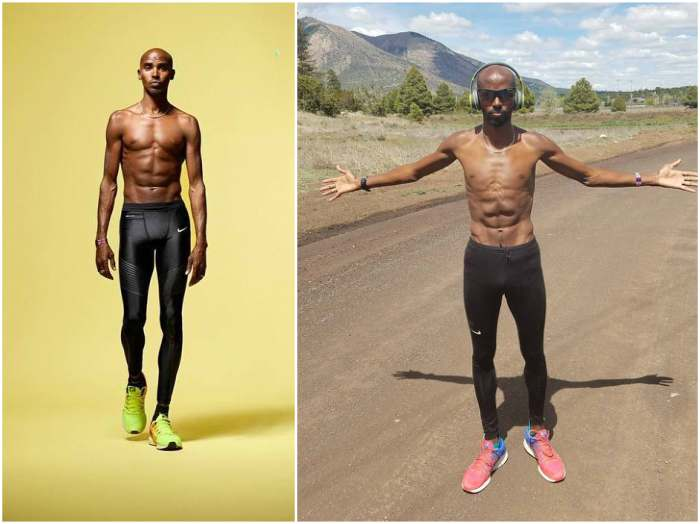 Mo Farah`s height, weight and age
