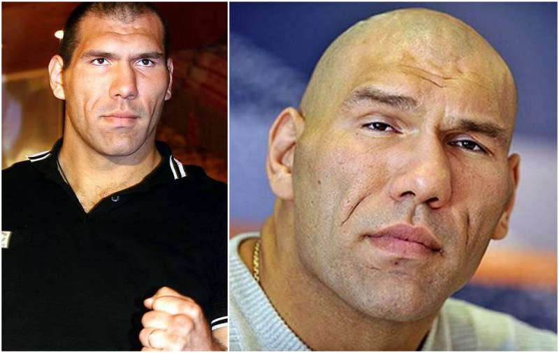 Nikolai Valuev's eyes and hair color