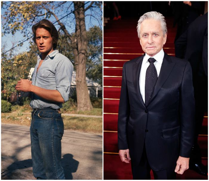 Michael Douglas' height, weight and age