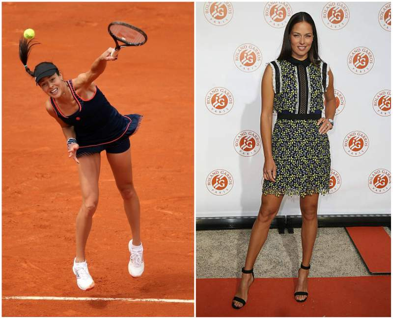 Ana Ivanovic's height, weight and body measurements