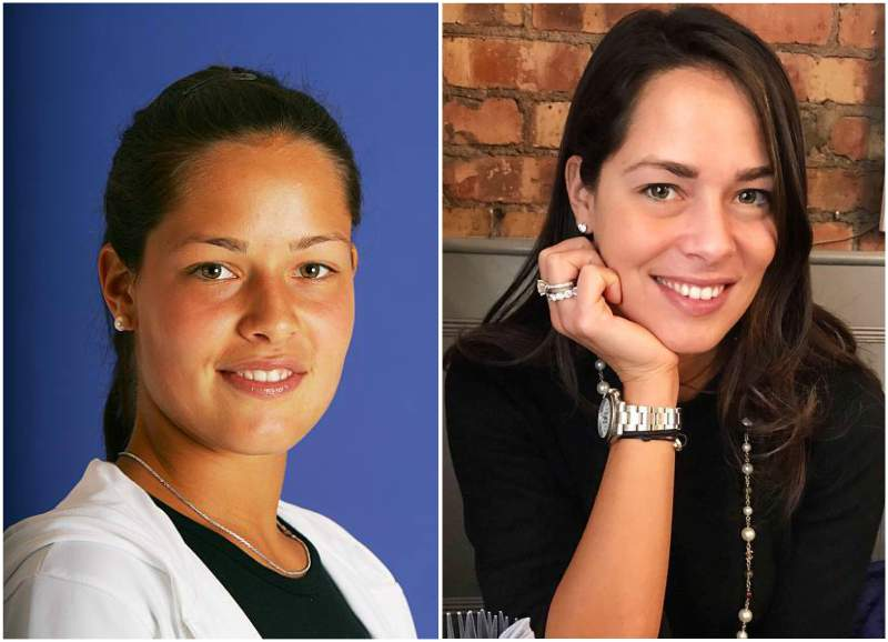 Ana Ivanovic's eyes and hair color