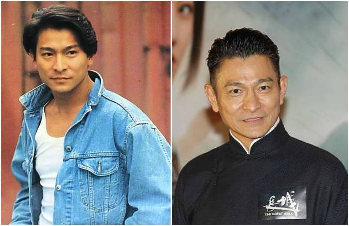 Andy Lau's eyes and hair color