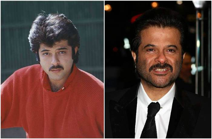 Anil Kapoor's eyes and hair color