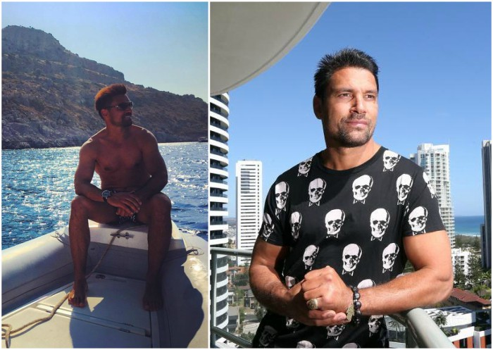 Manu Bennett`s height, weight and age