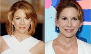 Melissa Gilbert's eyes and hair color