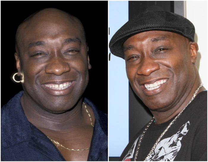 Michael Clarke Duncan's eyes and hair color