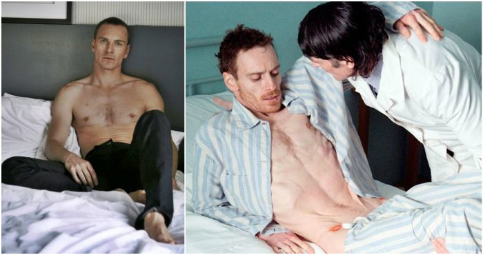Michael Fassbender's height, weight and body measurements