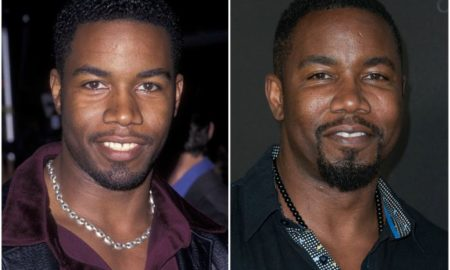 Michael Jai White's eyes and hair color